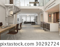 kitchen, dining, interior 30292724