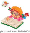 reading, book, girl 30294608