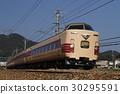 limited express train, stork, series 381 30295591