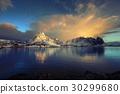 sunrise at Reine, Lofoten Islands, Norway 30299680