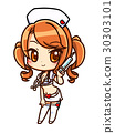 Miniska พยาบาล _ ขาว 30303101