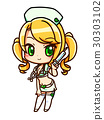 Miniska พยาบาล _ เขียว 30303102