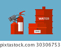 Fire extinguisher danger protection security help 30306753