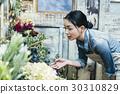 工作在花店的妇女 30310829