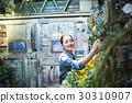 工作在花店的妇女 30310907