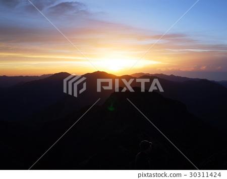 台灣山岳-奇萊南峰 30311424