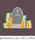 Graveyard with cash money 30311464