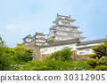 Main tower of the Himeji Castle in Japan 30312905