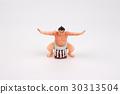 the figure of Sumo Wrestler 30313504