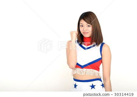 Japanese cheerleader 30314419