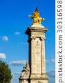 Pont Alexandre III, the statue of Fame, Paris 30316598