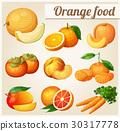卡通 食物 食品 30317778