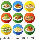 food icon italian 30317795