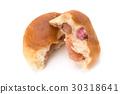 anpan, anpan bread, bean-jam bun 30318641