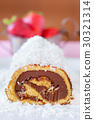 Chocolate Coconut Cake Roll 30321314