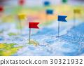 แผนที่,ไม้นวดแป้ง,ธง 30321932
