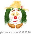 Sad fruity clown. 30322228
