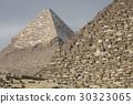 Great Egyptian pyramids in Giza, Cairo 30323065