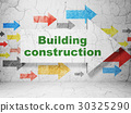 arrow, construction, building 30325290