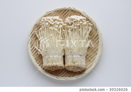 Enoki mushrooms 30326026