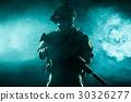 Army Ranger in field Uniforms 30326277