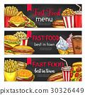 vector, banner, menu 30326449