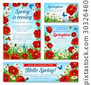 spring,flower,banner 30326460