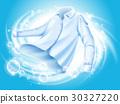 washing clothes illustration 30327220