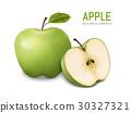 green apples illustration 30327321