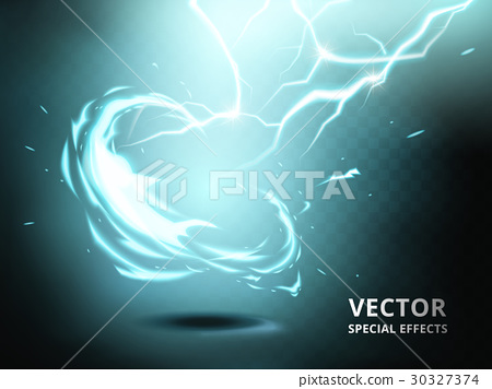 electricity current special effect 30327374