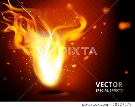 small flame special effect 30327379