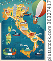 Italy travel map 30327417