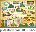 Guilin travel elements collection 30327427