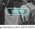 Chat Message Speech Bubble Communication 30331804