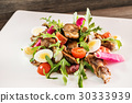 warm salad with duck 30333939