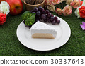 Delicious creamy cake 30337643