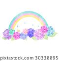 繡球花 花朵 花 30338895
