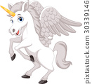 Cartoon unicorn 30339146