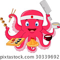 Octopus chef 30339692