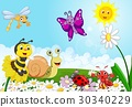 Cartoon small animals 30340229