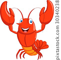 cartoon character lobster 30340238