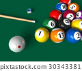 Billiard set 30343381