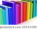 book, cover, rainbow 30343390