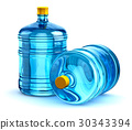 19 liter or 5 gallon plastic drink water bottles 30343394
