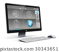 computer, desktop, workstation 30343651