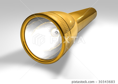 Golden flashlight 30343683