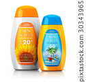 Set of sun care cosmetics 30343965