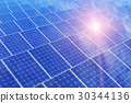 Electric solar battery panels 30344136