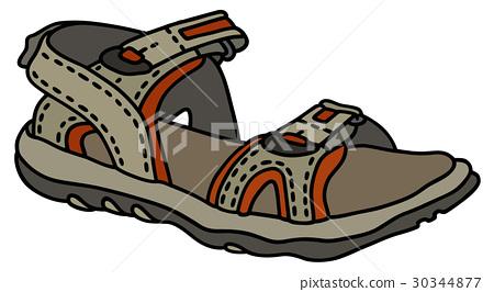 Open sport shoe 30344877