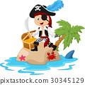 Pirate in the treasure island 30345129